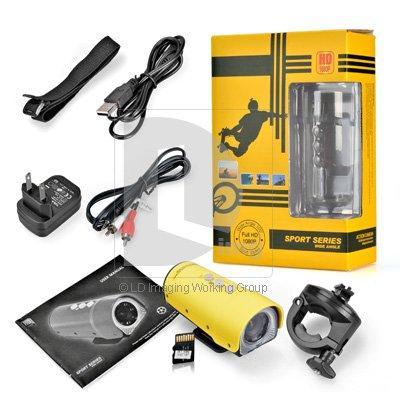 Quality RD32 IR Night Vision Action Camera 5 Mega Pixels Waterproof Outdoor Sport DV 1920*1080P Bicycling Camera AV HDMI Port for sale