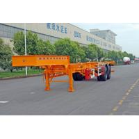 Wholesale 20ft / 30ft Gooseneck Container Trailer Chassis ISO Transporting Container from china suppliers