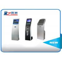 Quality 19inch / 21inch self service kiosk for ticket dispenser machine in bank for sale