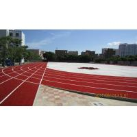 Wholesale UV-resistant  Runway Artificial Grass Lawn Turf, Gauge 3/8 Red Artificial Grass for Sports from china suppliers