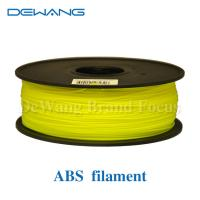 Wholesale Multicolored 3D Printer Filament 1kg 2.2lb 1.75mm / 3.00mm ABS Material from china suppliers