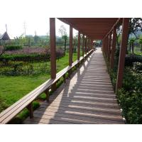 Cheap environmental wood grain hollow composite wood deck/waterproof composite wood/Europe standard