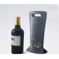 Wholesale high quality factory price promotional bags felt  wine tote bag wholesale from china suppliers