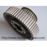 Buy cheap CNC Machine Parts Aluminum Timing Belt Pulleys Maintainance Free from wholesalers