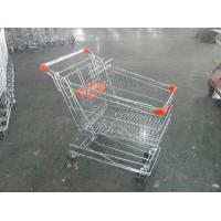 Wholesale Asian Style Metal Shopping Trolley 100KGS with Anti-rust Treatment from china suppliers