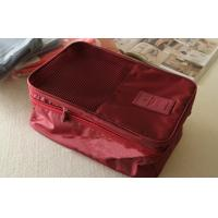 Wholesale Inner Net Pocket Red Large Size Travel Organizer Bag for Shoe / Clothing Storage from china suppliers