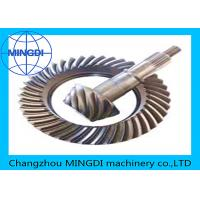 Wholesale Forged Helical Ring Pinion Gear With Material 17CrNiMo6 / Crown Wheel Pinion from china suppliers