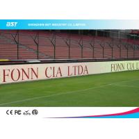 Wholesale Pixel Pitch 16mm Football Stadium Advertising Boards 1R1G1B With High Contrast from china suppliers