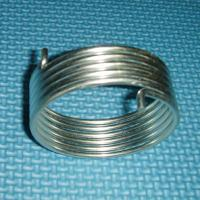 China 40 - 50HRC hardness Yellow zinc plated wire Coil Spring Steel Extension Springs on sale