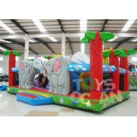 Wholesale 7x5m Large Inflatable Playground Ourdoor Playground Obstacle Combo For Children from china suppliers