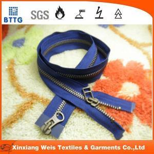 Wholesale Xinxiang EN11612 NO5  metal close end metal fire retardant zipper from china suppliers