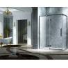 Buy cheap Elegant Design Semi Frameless Diamond Shape Shower Enclosure With Pivot Door, AB from wholesalers