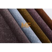 Wholesale Modern Faux Leather Auto Upholstery Fabric Luxurious Textured Grey / Brown Color from china suppliers