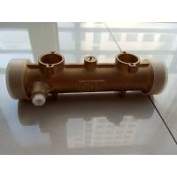 Quality Brass Meter Body For Household Ultrasonic Heat Meter DN15 - DN40 for sale