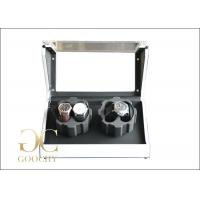 Wholesale Pearl White Battery Powered Watch Winder , PU Leather 4 Watch Winder Box from china suppliers