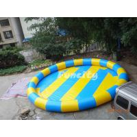 Wholesale Colorful 0.6 Mm Pvc Tarpaulin Inflatable Water Pools Water Swimming Pools from china suppliers