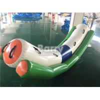 Wholesale Commercial Grade Inflatable Toys Water Teeter Totter Seesaw For 4 Peoples On Water from china suppliers