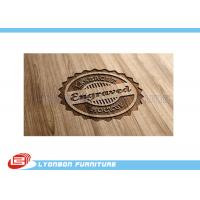 Wholesale Durable Display Wood CNC Engraving Logo / Wood Label Sign For Exhibition from china suppliers