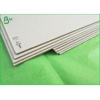Buy cheap high stifiness 1200gsm grey chipboard sheet 787x1092mm grey binding paper from wholesalers