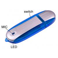 Wholesale Aluminium 4G, 8G Memory Stick Digital Flash USB Drive Voice Recording Connect to PC from china suppliers