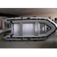 Wholesale PVC 430 Cm Inflatable Sport Boat Easy Take Against Abrasion With Foot Pump from china suppliers