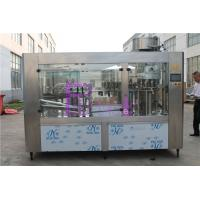 Wholesale Automatic Drinking Water Filling Machine , Stainless Steel Bottled Water Production Line from china suppliers