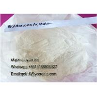 Wholesale Bulking Steroids White Solid Powder Human Growth Hormone Boldenone Acetate  CAS: 2363-59-9 from china suppliers