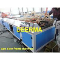 Wholesale WPC Profile Extrusion Line PVC Door Frame Making Machine / Door Pocket Machine from china suppliers