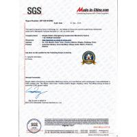Ningbo Haishu Chengzhong Construction Machinery Factory Certifications