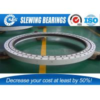 Wholesale Single Row Slewing Four Point Contact Bearing Without Gear For Axial Load from china suppliers