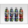 Printed Heat Shrink Bottle Sleeves , Personalized Labels For Water Bottles PVC Shrink Films for sale