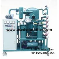 Wholesale ZJA Double Stage Cable Oil Cleaning Equipment,Transformer Oil Filtration Machine from china suppliers