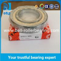 Wholesale Chrome Steel Angular Contact Ball Bearing , Four Point Ball Bearing QJ211 MPA from china suppliers