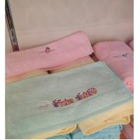 Wholesale White Color Hotel Supply Towels , Custom Embroidered Towels  Personalized from china suppliers