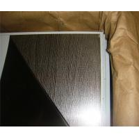 Buy cheap High quality construction material embossed gold 1.2mm stainless steel sheet contract distributor retailer wholesaler from wholesalers