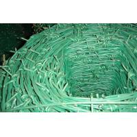 Wholesale Green Galvanized Steel PVC Coated Barbed Wire Iron Electric For Netting Poultry from china suppliers