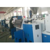 Quality PVC Plastic Extrusion Line , 16-63mm PVC Cable Protection Pipe Production Line for sale