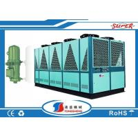 Wholesale Single Circult Loop Air Cooled Screw Chiller , Air Cooled Chiller Plant from china suppliers