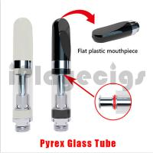 China Pyrex Glass Hemp CBD oil Cartomizer Liberty No Burning No Leakage Adjustable Top airflow Topfilling  Coil THC oil on sale