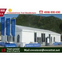 Wholesale Bent Column Large Custom Event Tents PVC Cover For Storage Exhibition ISO from china suppliers