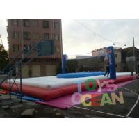 Wholesale Inflatable Bassaball Course Exciting Beach Games Inflatable Volleyball Fields from china suppliers