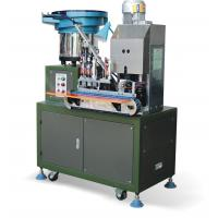 Buy cheap Automatic 3T Two Round Pin Europe Plug Making Machine AC220v / 50hz from wholesalers