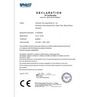 Shenzhen City Jingyi Mould Co., Ltd Certifications