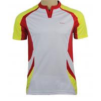 Wholesale XL - XXL - XXXL Short Sleeve Crew Neck Wicking Jersey Running T Shirt Full Color from china suppliers