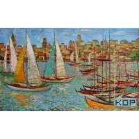 Wholesale 18M Digital Printing Canvas , Eco-solvent Glossy Pure Cotton Art Canvas from china suppliers