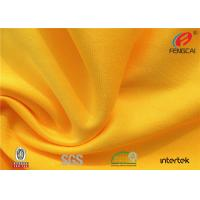 Wholesale Waterproof stretch Polyester spandex Knitted fabric for school sports uniform from china suppliers