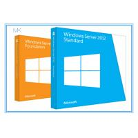 Quality Microsoft Windows Server 2012 Versions Standard Edition 64bit 5 Clients for sale