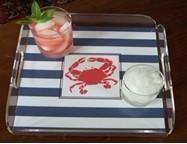Wholesale Custom Size Acrylic Room Service Tray from china suppliers