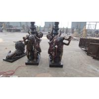 Wholesale Outdoor Bronze Children Angel Sculptures For Garden Decoration from china suppliers