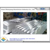 Quality Corrugated Aluminum Ridge Tile Embossed Aluminium Sheet 0.5 mm Thickness for sale